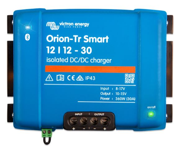 Orion-Tr 12/12-30A (360W) DC-DC Charger