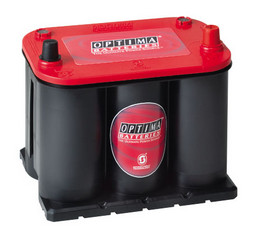 Optima 'RedTop' Spiracell battery - 12V - 44Ah (730cca)