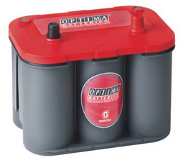 Optima 'RedTop' Spiracell battery - 12V - 50Ah (815cca)