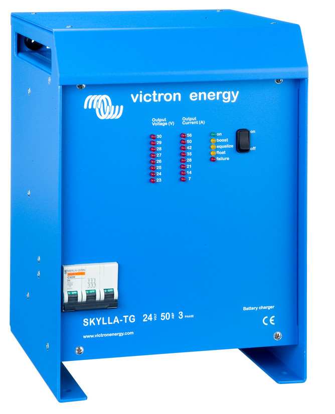 Victron Skylla 24 Volt 50 Amp Battery Charger - 3 Phase