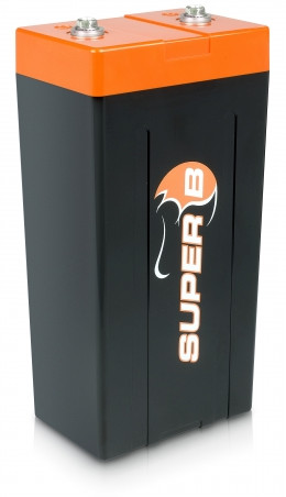 Super B Lithium Ion Energy / Starter Battery 20 Ah @ 13.2 V (0.264 Khw).