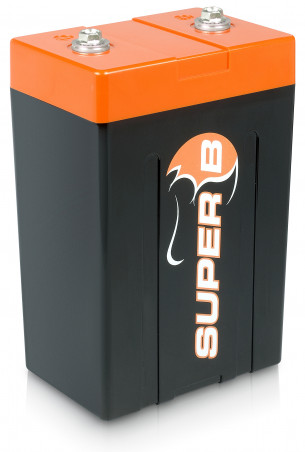 Super B Lithium Ion Starter/Power Battery 15 Ah @ 13.2 V (0.198 Khw).