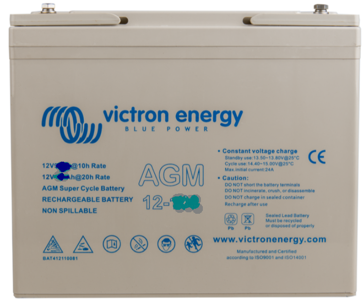 12V/12.5Ah AGM Super Cycle Battery