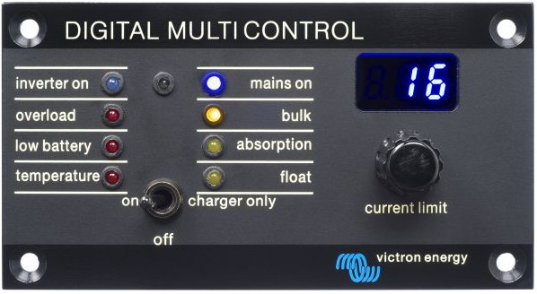 3/PMU Panel.  Victron Phoenix Multi Remote Panel
