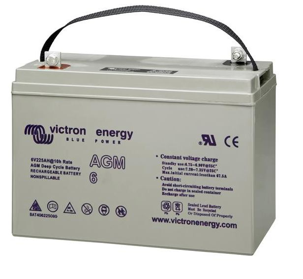 Victron 6V AGM Deep Cycle Battery 240ah