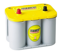 Optima 'YellowTop' Spiracell battery - 12V - 55Ah (690cca)