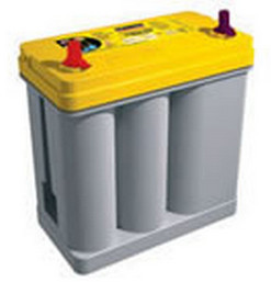 Optima 'YellowTop' Spiracell battery - 12V - 41Ah (510cca)